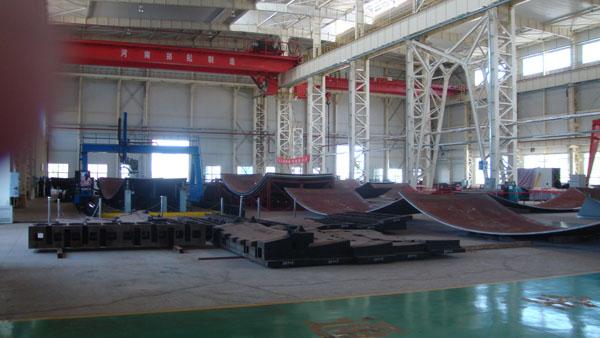 核电AP1000:CV封头模具生产现场